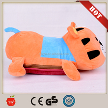 Cute cartoon shape electric Heater Electric hot water bag for hand warmer/ electrothermal water bag from china factory