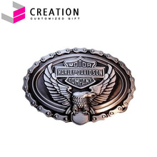 Motor Harley Company Custom Eagle Raising 3D Metal Buckle For Men or Women