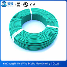 0.75mm2 silicone rubber fiberglass braided electric heat resistant wire