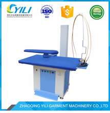 garment factory vacuum ironing machine inbuilt boiler and electric heating