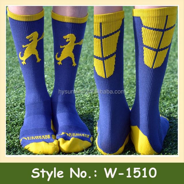 W-1510 Hot Sale Cotton Elite Sports Socks Custom Men Compression Socks