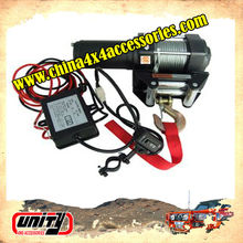 Wholesale for Uaz/Yaz/Linda Niva Car winch 3500lbs with steel Rope mini 12v electric