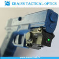 Super Compact tactical pistol green laser sight (ES-XL-NXG)