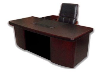 Managerial Office Desk With Return