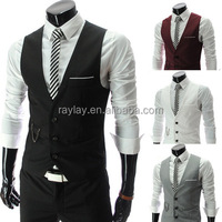 High quality salon barber stylist vest with different colors for options