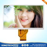 7 inch 800x480 controller pcb board small lcd monitor with av input