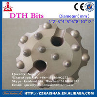 media pressure tapered button drill bit used Mining/limestone Down hole with jack hammer