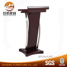 Modern Conference Wood Rostrum Podium for guangzhou