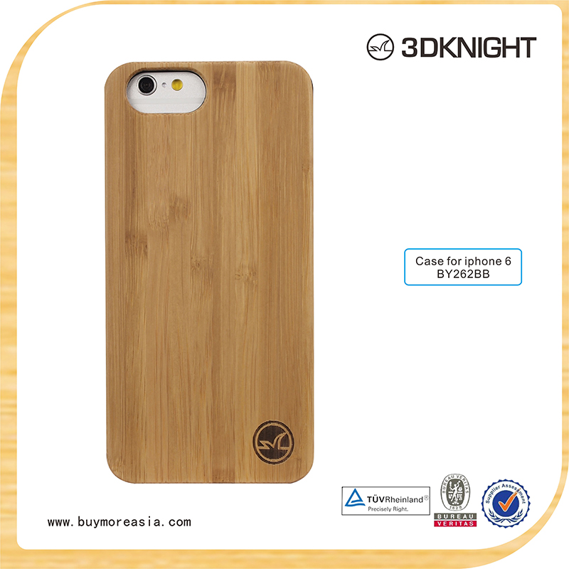 2016 hot selling wood bamboo cover for mobile phone