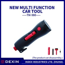Selling hot products Auto emergency tool solution to lock the door glass breaker and wiper tool window perforation Thornton,made