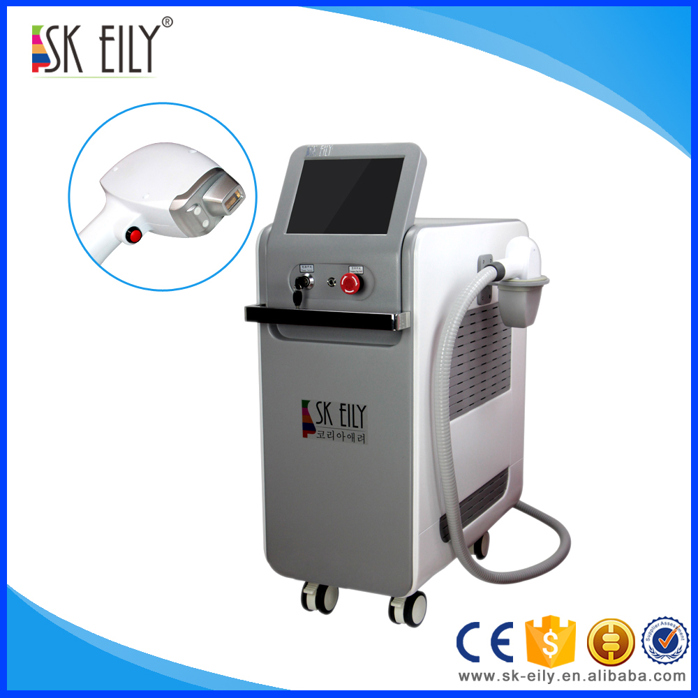 Vertical gmerny imported laser bar 808nm salon equipment laser hair removal