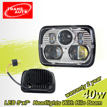 "DOT Approval Sealed Beam 5"" x 7"" LED Headlights for Car Offroad Truck"