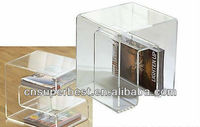 Acrylic book display holders