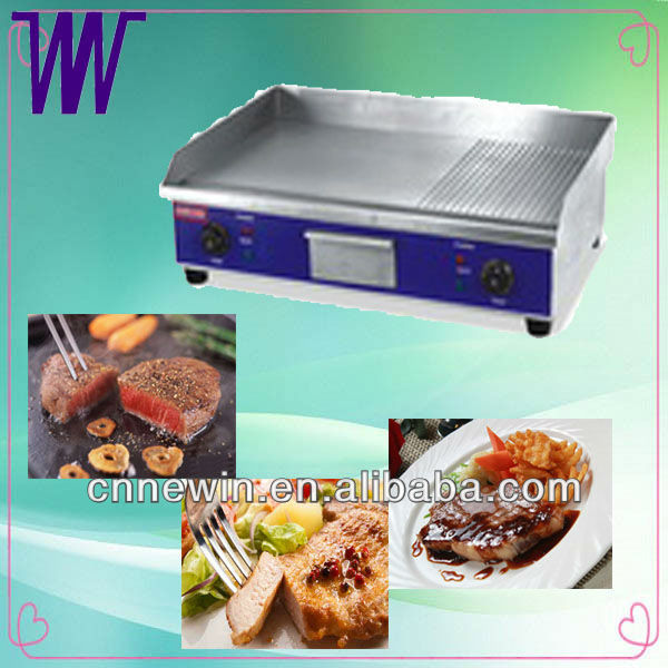 Electric Kitchen Range with Griddle