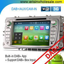 ES3709F Android 7.1 Car DVD Player GPS Sat Nav DAB+For Mondeo S/C-Max portable dvd
