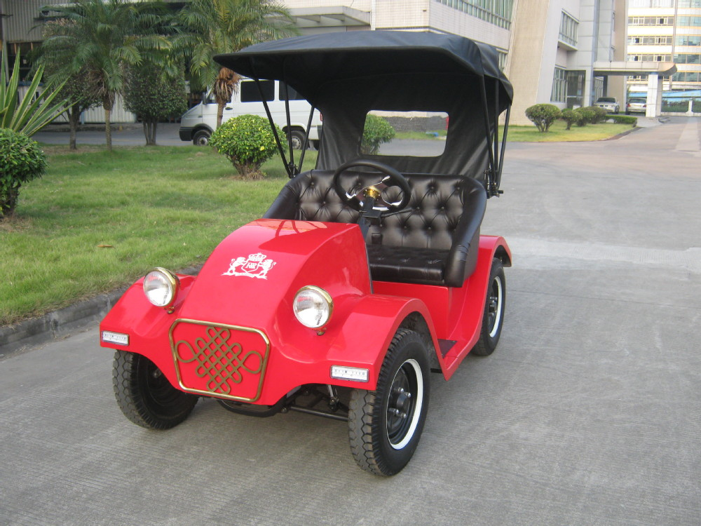 mini vintgae 2 seats electric bubble car