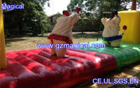 inflatable bungee run for sumo fighting/ sumo suits with bungee run