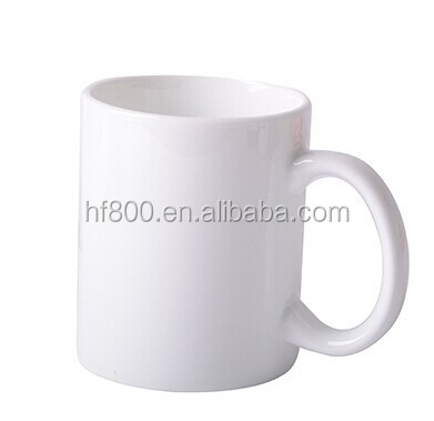 11oz sublimation blank white mugs heat press coffe mug ceramic mug