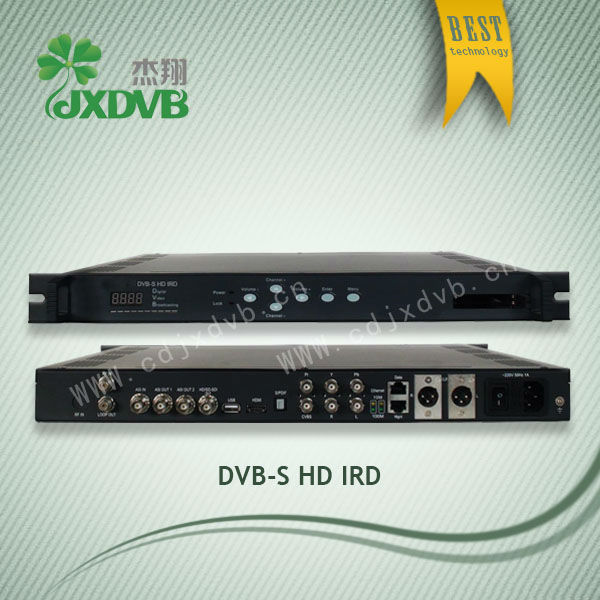 With CI Slot HD IP Satelite Receiver