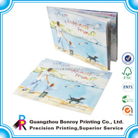 Custom print exercise book coupon book printing