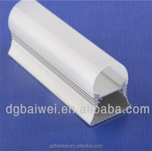 1.2m 4ft integrated t8 led light housing/high lumen aluminum housing and plastic pc cover