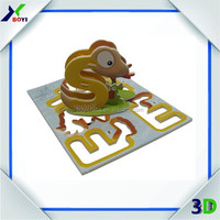 China Factory Custom Educational DIY Toy 3D EPS Puzzle for Children