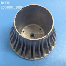 Top sale aluminum die casting cover parts with 100% test