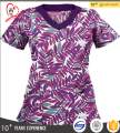 New Medical Nursing Scrubs Top for Women OEM Made in China