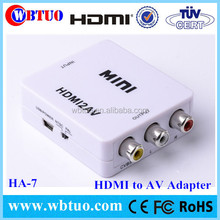Chinese Supplier 1.4 HDMI To AV RCA Video Converter