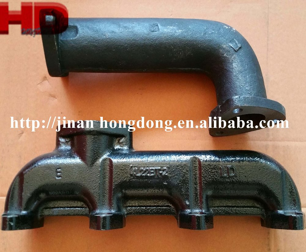 4L22BT Exaust Manifold for Chinese Diesel Engine Spare Parts
