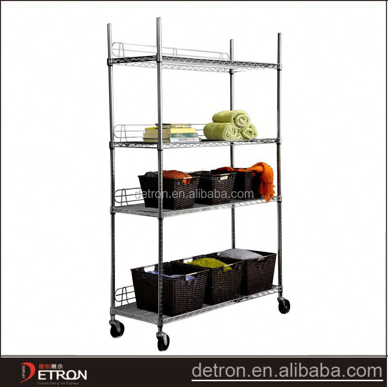 Multifunction DIY storage lowes wire shelves