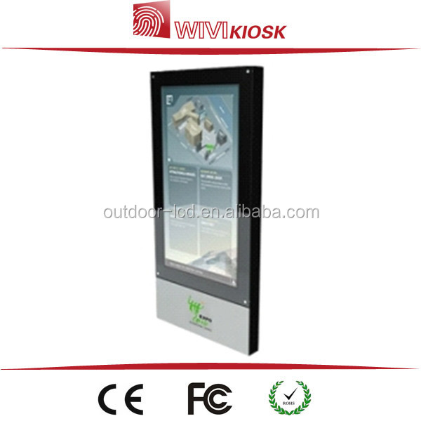 55 inch Free Standing Information Interactive Kiosks with touch