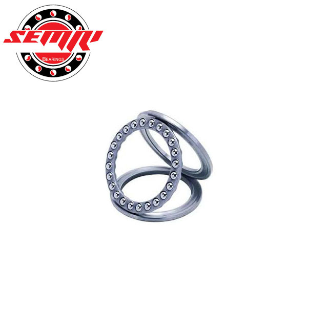 51108 thrust ball bearing supplier with nylon cage double direction full shield steel miniature axial load thrust ball bearing