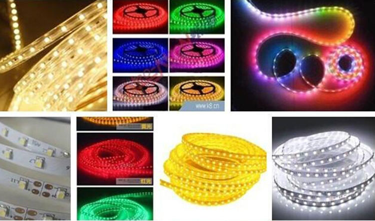 60 leds led strip 5050 smd magic pixel led strip lights ws2801 4 wire ( date and clock individual)