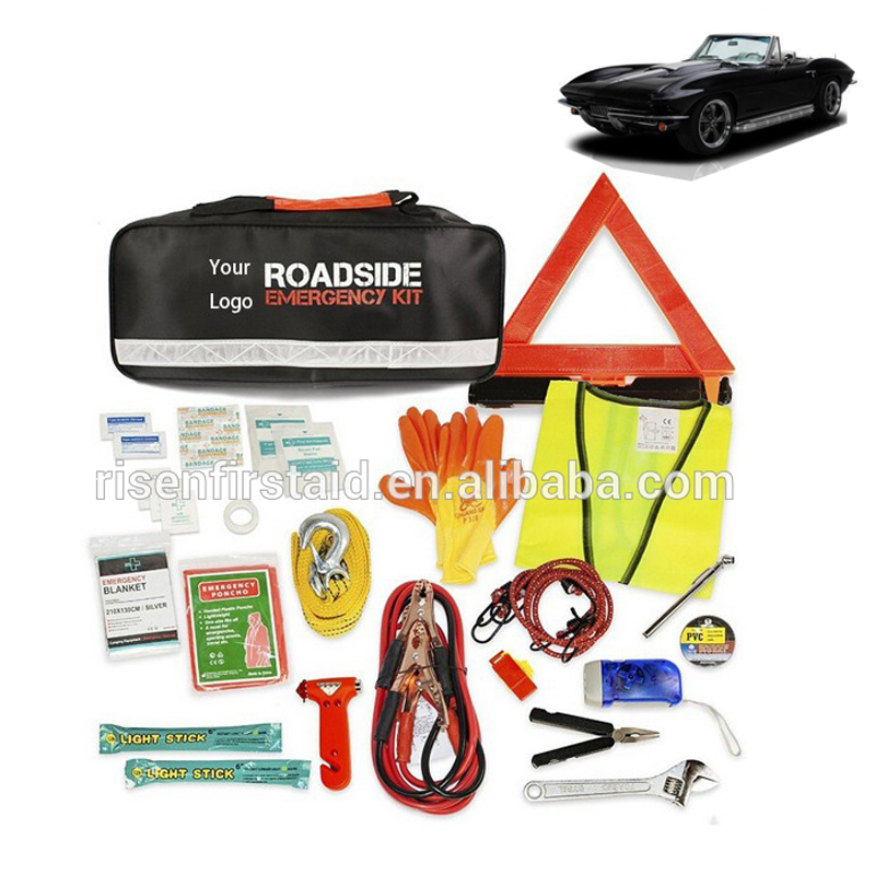 China suppliers competirive price roadside emergency kit/roadside assistance kit/car emergency kit