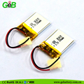 GEB LP262030 3.7V 110mAh Rechargeable lipo battery