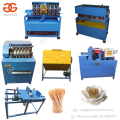 Factory Price Wood Tooth Pick Processing Production Line Manufacturing Wooden Toothpick Making Machine for Sale