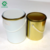 Tinplate Metal Cans Auto Paint Round