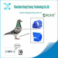 Uhf Rfid Tags belgium pigeon ring For Pigeon Racing