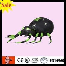 Spider w Turning Head Animated Gemmy Airblown Inflatable 6ft halloween decoration outdoor