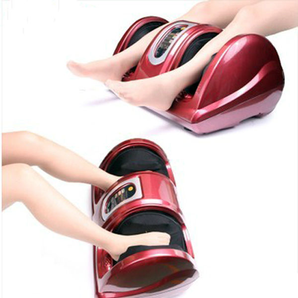 Vibrating rolling foot pedicure machine