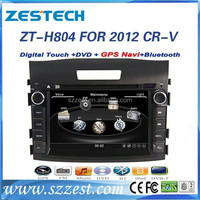 ZESTECH Factory OEM CE certification and 8 inch 2 din car dvd for Honda CRV 2012