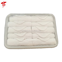 100% cotton hot towel for airline, airline towel