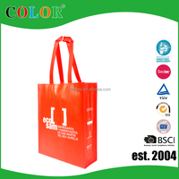 Wholesale Promoional Cheap PP Non Woven Laminated Tote Bag