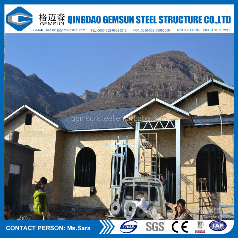 Economic Villa Modular House Prefab Home Prefabricated House Cheap Prefab Steel Structure House