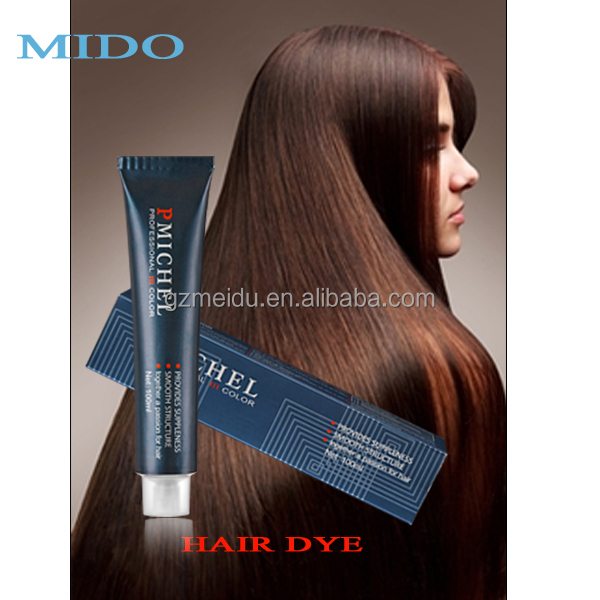 Hair color brand names P.Michel offer professinal and glitter hair color