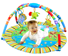 Funny activity baby play gym mat with new style