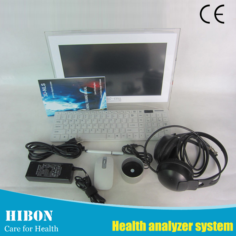 3D Nls Analyzer Health Detect Machine Ce 3D Nls Advanced Vector Lris Body Health Analyzer