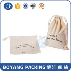 white small canvas drawstring bags with printing