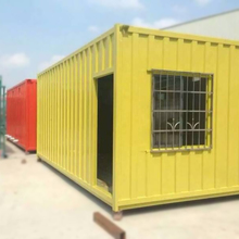 China supplier cost efficient prefabricated luxury movable shipping container house for sale
